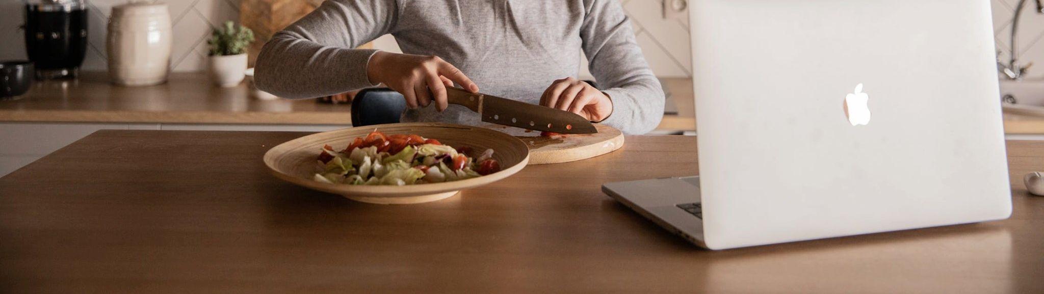 Online kochen? Wie soll das gehen? Einfach mal ausprobieren!