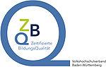 Logo ZBQ Zertifizierte BildungsQualität Volkshochschulverband Baden-Württemberg