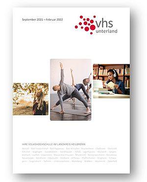 Titelbild des VHS Programmheftes für Herbst und Winter 2021/22